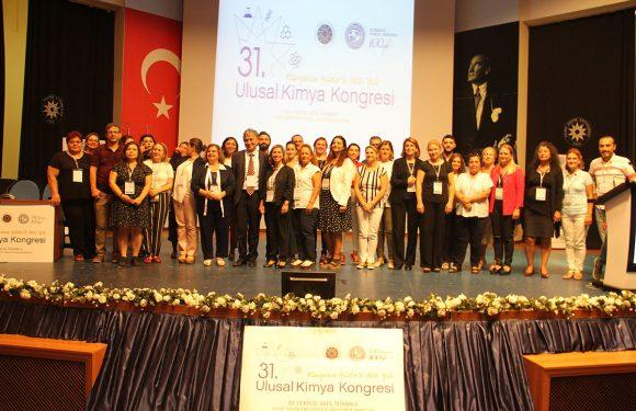 31. Ulusal Kimya Kongresi Gerçekleştirildi